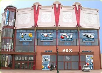 NOUVEAU ! Le centre de jeux Nex Fun Arcades, situé sous la salle ...
